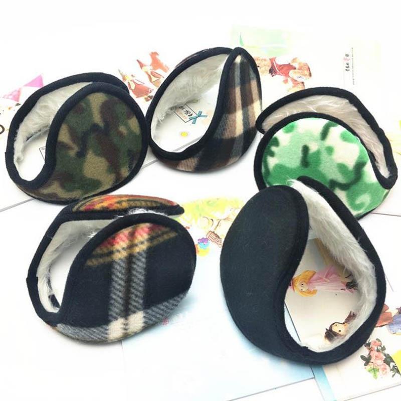 Calymel New Unisex Fashion Plush Cloth Ear Muffs Winter Fleece Warmer Fur Earmuff For Men Women Warm Headphones