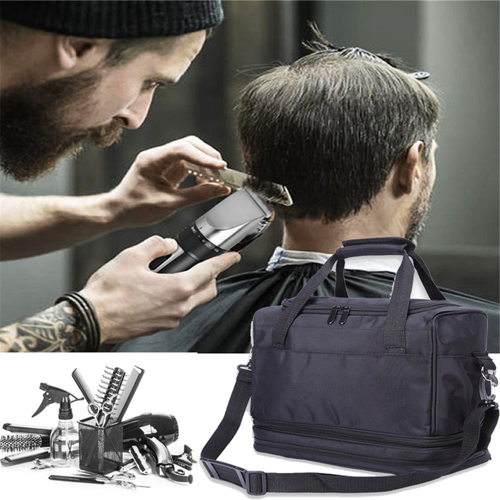 Large Barber Tools Bag Salon Hairdressing Hair Styling Tools Clipper Comb Scissors Case Storage Bag Home decor Accessories