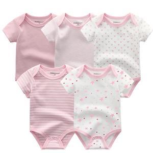 Image 4 - 2020 yaz bebek giysileri seti Unisex kısa kollu yenidoğan bebek Bodysuits ve bebek pantolon pamuk 3 12M bebek giyim