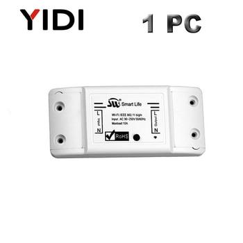 Wifi Smart Light App Control Switch Universal Breaker Wireless Remote Control Smart home tuya App voice control timer switch 10