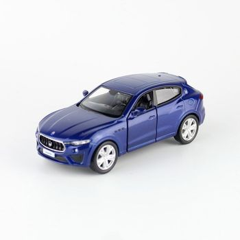1:36 Scale/Maserati Levante GTS Toy Car RMZ City Diecast Model Pull Back Doors Openable Educational Collection Gift For Kid image