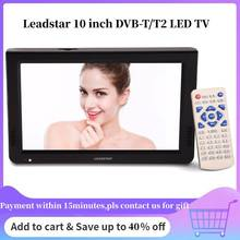 LEADSTAR 10 дюймов ТВ Портативный ТВ DVB-T DVB-T2 ATSC ISDB-T цифровой аналоговый телевизионный Televizyon для автомобиля ТВ светодиодный ТВ НЧ-динамик, Bluetooth мини ТВ