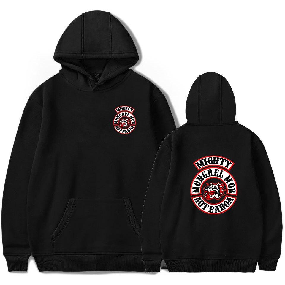 Hoodie Mongrel Mob Idol print Soft Popular For Women/Men Pullover Fashion Hoodies Sweatshirts Brand clothing
