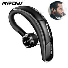 Mpow 028A Bluetooth 4.1 Handsfree Della Cuffia Auricolare Senza Fili con Clear Cattura Voce Microfono a Portata di Mano di Affari Senza Fili Auricolari