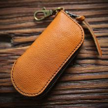 Ключница для ключей мужчин ключница из натуральной кожи органайзер