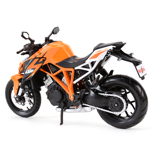 Image 2 - Maisto 1:12 KTM 1290 Super Duke R Orange Die Cast Vehicles Collectible Hobbies Motorcycle Model Toys