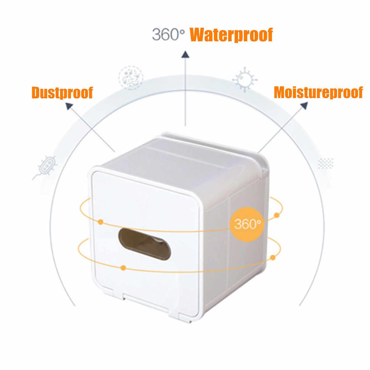 للماء حامل ورق المرحاض جدار جبل المرحاض درج الورق الرف صندوق تخزين ورقي مربع المطبخ الحمام مناديل حمام حامل