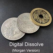 Trucos de magia Digital disolve (versión Morgana), accesorios para trucos de magia