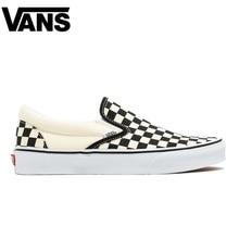 Original Vans Old Skool Men Skateboarding Shoes Comfortable Luxury brand  Plaid Pattern Women Canvas Sneakers Size 36-44