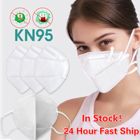 KN95 Dustproof Anti-fog Breathable Face Masks N95 Mask 95% Filtration Features As KF94 FFP2 Anti Infection Protective Mask Fast