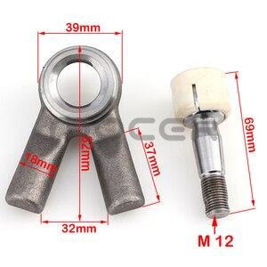 Image 5 - M10/12 Schaukel Arm kugelgelenk Kits Fit Für Chinesische ATV UTV Go Kart Buggy Quad Bike Elektrische Fahrzeug 250cc 1000w Roller Teile
