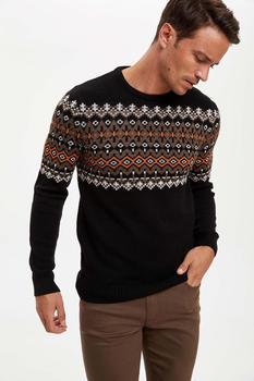 DeFacto męski pulower tanie i dobre opinie HKTY CN (pochodzenie)