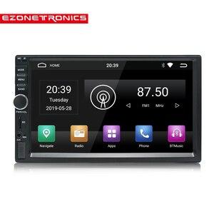 Image 2 - אוטומטי OBD2 7 אינץ Android9 Quad Core 2G + 32G אוניברסלי 2Din לא dvd לרכב אודיו סטריאו GPS ניווט רדיו ערכות רכב מולטימדיה לשחק