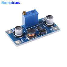 1PC 2A DC-DC Boost convertisseur de volts Module d'alimentation 2V-24V à 3V 5V 6V 9V 12V 19V sortie Booster