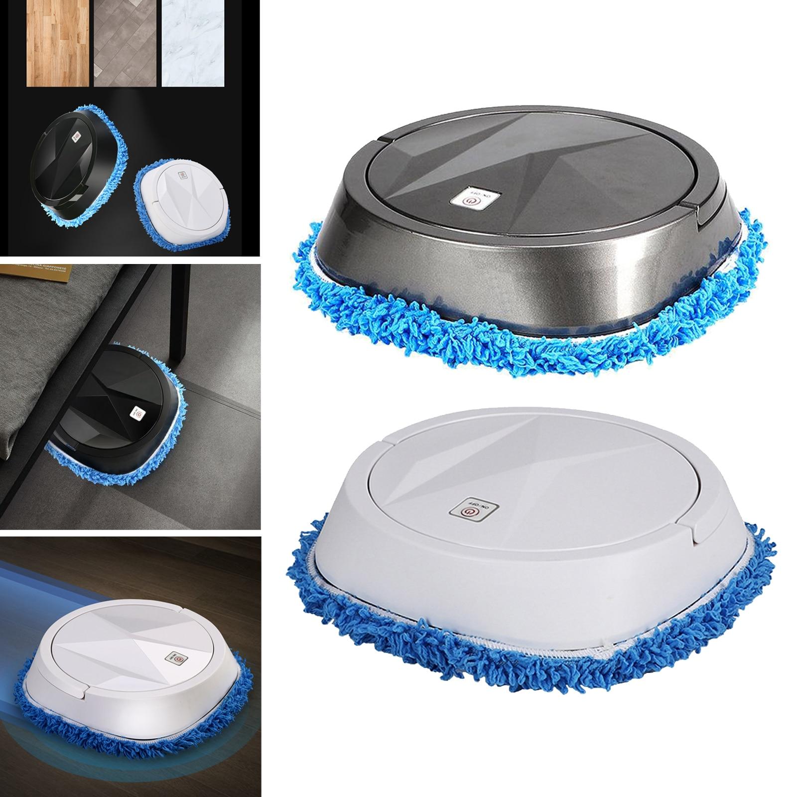 Low Noise Vacuum Cleaner Robotic Floor Sweep Mopping Machine for Tile Floors 1200mAh
