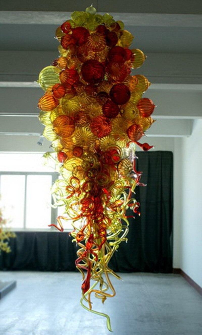 110v-240v lâmpadas led forma de bolha chihuly
