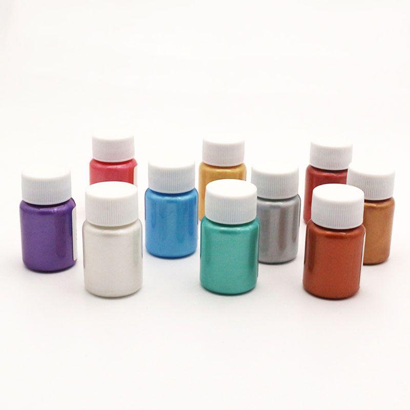 Acrylic Pigment Metallic Paint Drawing Art DIY Handmade Enamel Ceramic Gypsum Canvas Kite Painting Coloring Painting Tool School