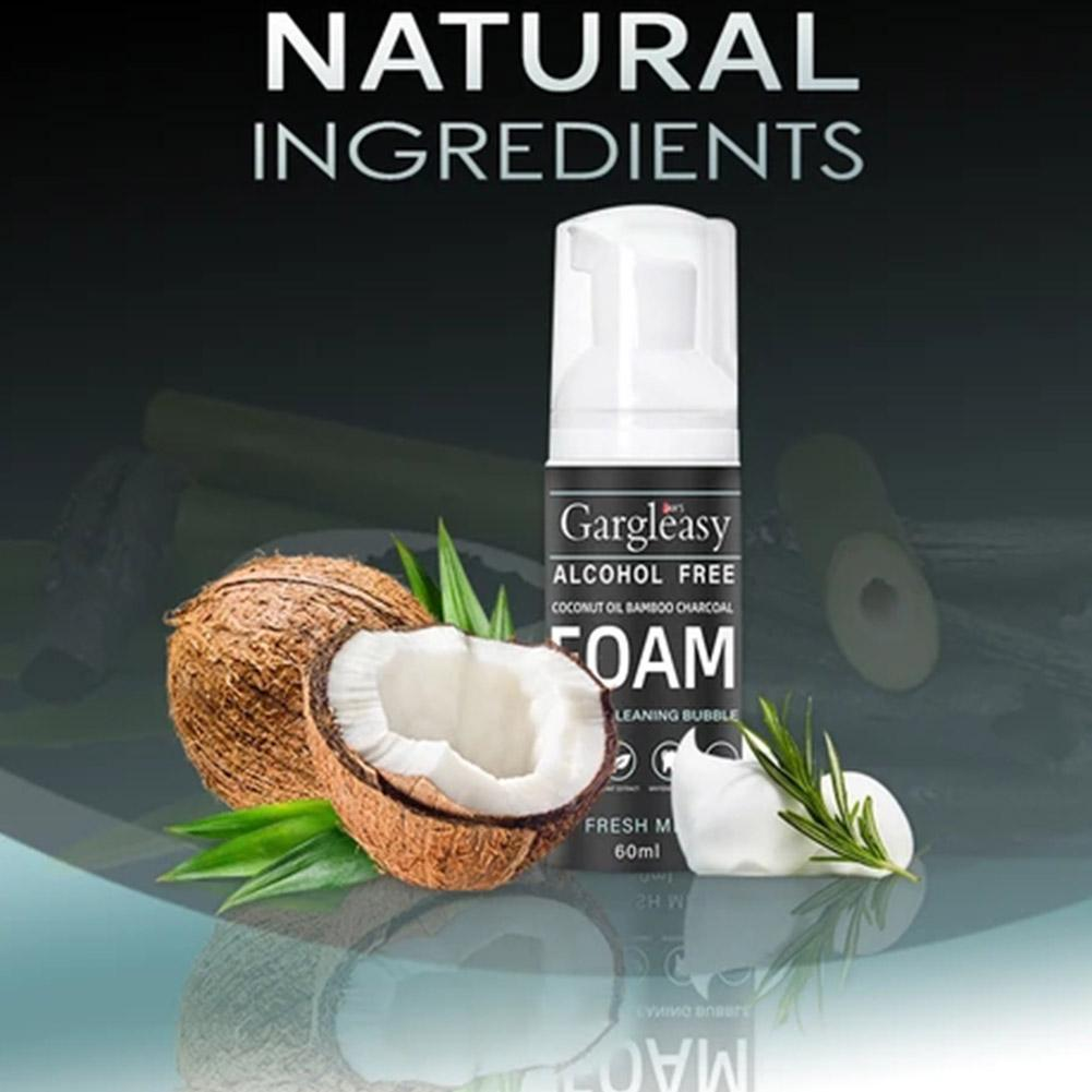 Coconut Oil Tooth Cleansing Mousse