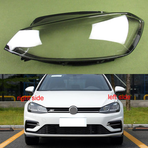 Image 1 - Cubierta de faro transparente para Volkswagen VW Golf 7,5 2018, cubierta de Faro, carcasa transparente