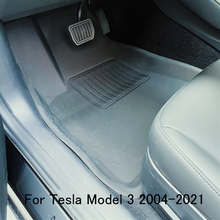 Fully Surrounded Special Foot Pad For Tesla Model 3 Car Waterproof Non-Slip Floor Mat TPE XPE Modified Accessories 2013-2021