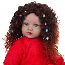 KEIUMI nouveau Design Reborn bébé poupées peau noire 60 CM tissu corps enfant en bas âge poupée africaine bébés jouet pour enfants cadeau d'anniversaire de noël