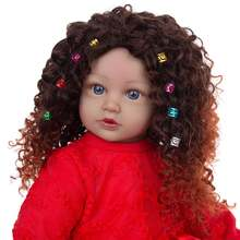 Keiumi новый дизайн куклы Младенцы reborn черная кожа 60 см