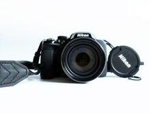 Nikon – appareil photo numérique d'occasion COOLPIX P520, Full HD, 18,1 mp, 1080p, GPS intégré, zoom 42x, objectif verre NIKKOR, autofocus, Wi-Fi