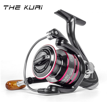 THEKUAI Fishing Reel Spool Spinning Reel 8KG Max Drag Stainless Steel Handle Line Spool Saltwater Fishing Reels Coils Reel Coil mavllos saltwater fishing spinning reel 7000 8000 11000 aluminum alloy handle spool long shots jigging reel boat fishing reels