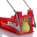 Машина для резки картофельных чипсов  слайсер  измельчитель  2 лезвия  кухонные гаджеты  резак для картофеля фри из нержавеющей стали