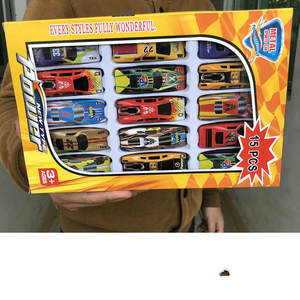 Kids Toys Vehicle-Model Automobile-Toys Racing-Car-Model-Collection Alloy Mini-Type 15pcs/Set