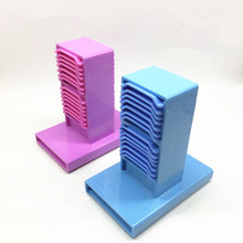 Plateaux en plastique pour Impression, laboratoire dentaire, support de plâtre, 1 pièce