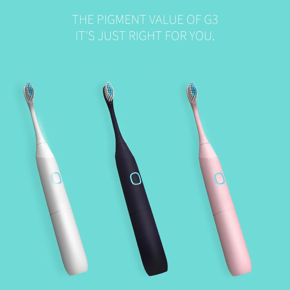 Sonic Vibration Electric Toothbrush Soft Hair Whitening Toothbrush Child Adult Universal Electric Toothbrush