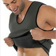 Sweat Sauna Body Shaper Men Slimming Vest Thermo Neoprene Trainer Sliming Waist Belt Durable And Comfortable Weight Loss Vest(China)