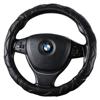 Car Steering Wheel Cover D Shape Or Round For Ford fusion 2015 ka kuga 2017 2018 2008 mondeo 4 2015 Steering Covers     -