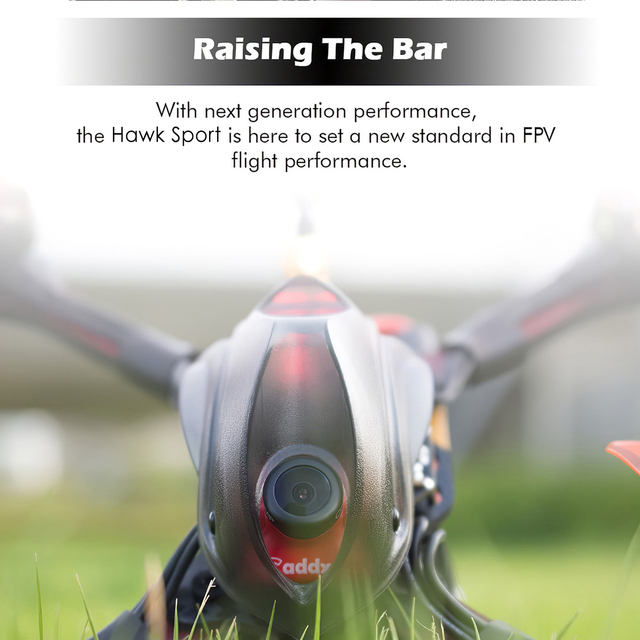 EMAX Hawk Sport FPV Racing Drone with Camera 1200TVL 2207 2400KV Brushless Motor 35A ESC F4 Tiny D8 FrSky Receiver BNF Mini Dron