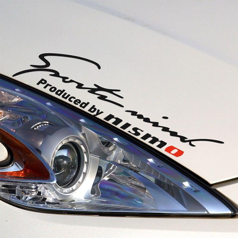 Customization NISMO Car Covers Stickers Decal Car-Styling For Nissan Qashqai 2015 Juke Almera N16 X-Trail Tiida Note 350z