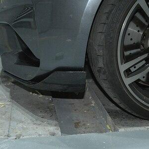 Image 3 - ممتص صدمات أمامي من ألياف الكربون شفة cupsuites اللوحات وينكليتس لسيارات BMW 2 Series F87 M2 Base كوبيه 2 Door 2016 2018