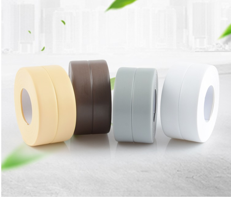 New 320x2.2cm Kitchen Bathroom Wall Sealing Tape PVC Waterproof Mildew Proof Sink Joint Crevice Sticker Corner Stick Strip
