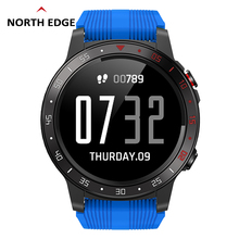 Smart Watches GPS North Edge Outdoor Sport Bracelet IP67 Waterproof Barometer Compass Watch Heart Rate Cross-Fit2 Smart Watch
