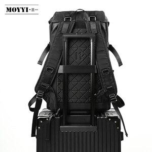 Image 5 - MOYYI 2019 nouveau Style sacs à dos léger avec grande capacité détachable rabat deux en un sacs à dos hommes sac