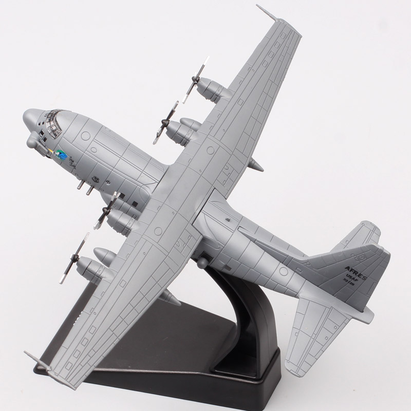 1/200 Scale Amer USA 1995 Lockheed AC-130A Hercules Gunship Spectre Aircraft Plane Diecast Vehicle Model Toy For Adult Collector