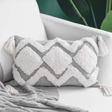 Bohemian Tassel Decorative Pillowcase…