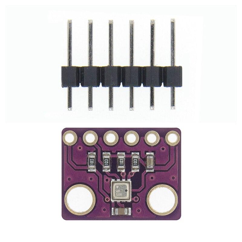 BME280 5 в 3,3 В цифровой датчик температуры и влажности атмосферный датчик давления модуль IEC SPI 1,8-5 в GY-BME280 - Цвет: BME280-3.3V
