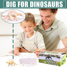 Wysokiej jakości dinozaur 3D puzzle solidne drewniane zabawki edukacyjne dla dzieci DIY drewniane wstawianie i montaż modelu dla dzieci tanie tanio Obrazy CN (pochodzenie) Trójwymiarowy Zwierząt Nowoczesne Puzzle Toy Wood