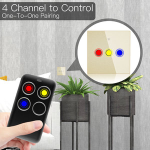 Image 3 - Wireless RF Receiver Learning Code Decoder 433MHz Remote Control Key 4 Channel Controller DIY Key for Switch Encoding 1527
