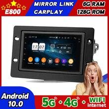 Автомагнитола 2DIN для SAAB 9-5 95, Android 10, мультимедийный плеер с GPS-навигацией, 6 ГБ ОЗУ, 128 Гб ПЗУ