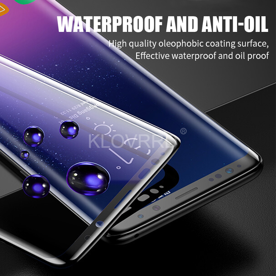 3D Full Curved Cover Tempered Glass for Samsung Galaxy S10E S8 S9 Plus S7 Edge Note 9 8 A8 A6 plus 2018 Note9 Screen Protector
