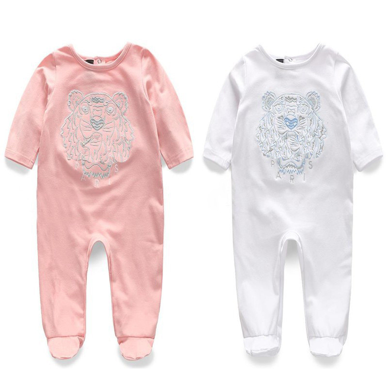 2020 Brand Summer Baby Boy Romper Short Sleeve Cotton Infant Jumpsuit Cartoon Printed Baby Girl Rompers Newborn Baby Clothes