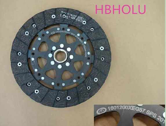 Disco de embrague HBHOLU Placa de presión de liberación de embrague 1601200XEG57 para Great Wall Haval H2 4G15B 240mm