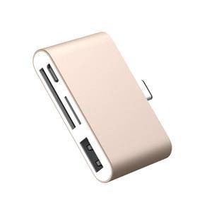 Image 5 - סוג c רכזת משולב כרטיס קורא Otg טלפון כרטיס קריאת 4 ב 1 SD/TF זיכרון כרטיס U דיסק USB3.1 סוג C כדי USB2.0 קוראי